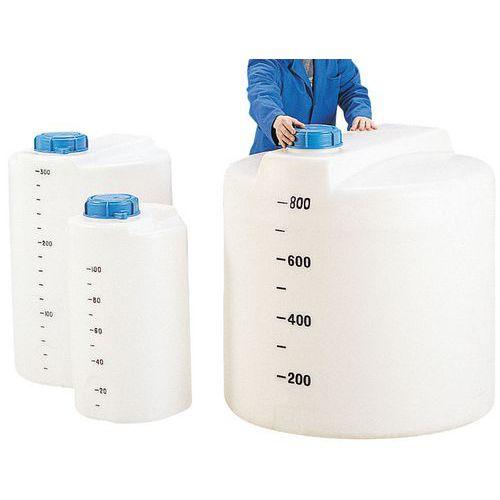 Lagertank für Lebensmittel - Weiß