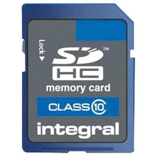 Speicherkarte SDHC- 4G- Intégral