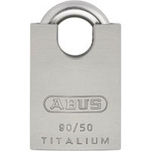 Vorhängeschloss Titalium Serie 90 - verschiedenschließend - 10 Schlüssel