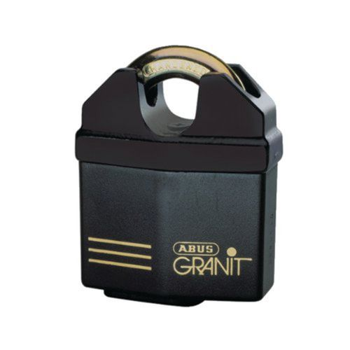 Gepanzertes Vorhängeschloss Granit Serie 37 - gleichschließend - 5 Schlüssel