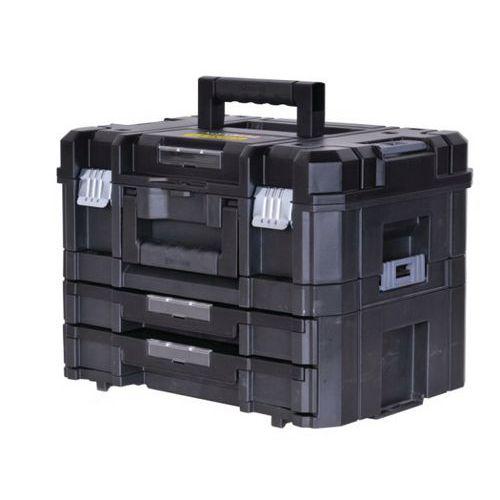 koffer und koffer mit 2 schubladen tstak manutan deutschland. Black Bedroom Furniture Sets. Home Design Ideas
