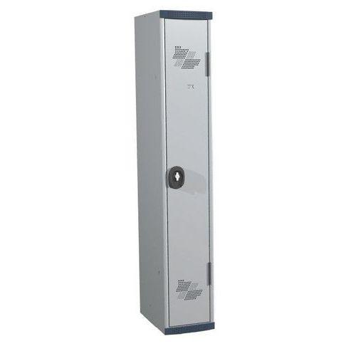 Spind Seamline Optimum® mit 1 Säule – Säulenbreite 300mm – mit Sockel