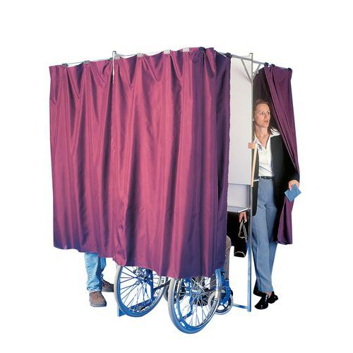 Faltbare Wahlkabine