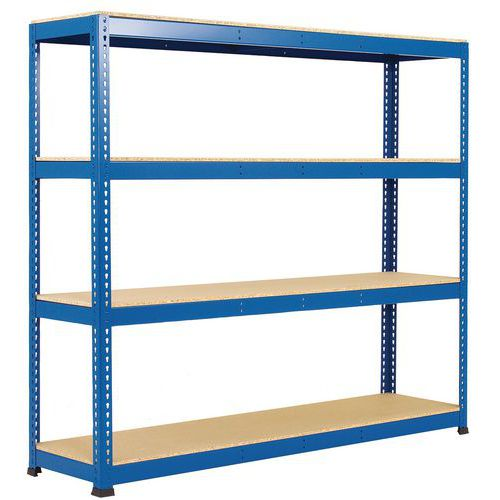 Regal für schwere Lasten Manutan Rapid 1- Holzfachboden