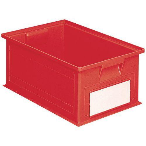 Behälter stapelbar mit spezifischen Abmessungen - Rot