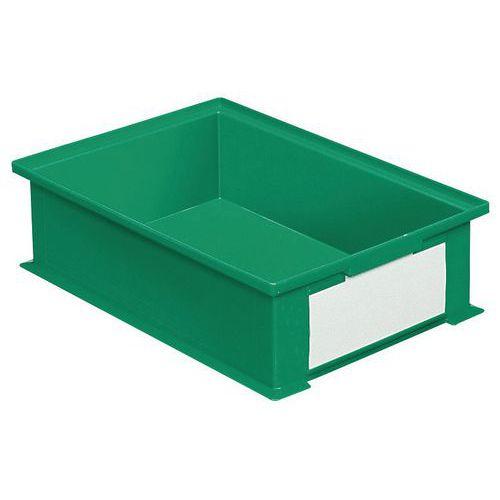 Behälter stapelbar mit spezifischen Abmessungen - Grün