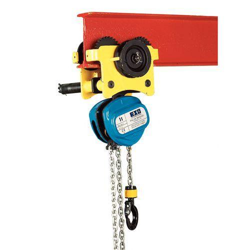 Kettenzug/Laufkatze auf Rollen - Tragkraft 250 bis 5000 kg