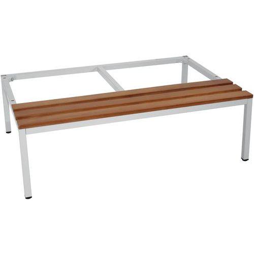 Sitzbank-Untergestell für Spind ohne Trennwand - Manutan