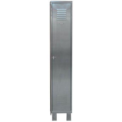 Edelstahlspind mit 1 bis 3 Säulen – ohne Trennwand – auf Füßen