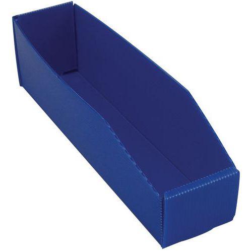 Faltbare Sichtlagerkasten - Länge 380 mm - 5 L bis 17 L