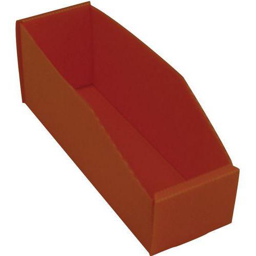 Faltbare Sichtlagerkasten - Länge 280 mm - 2,5 L bis 3,5 L