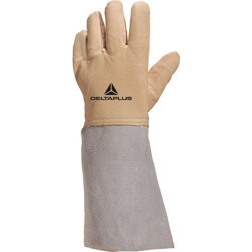 Tieftemperaturschutzhandschuhe aus wasserabweisendem Leder CRYOG- Deltaplus