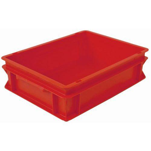 Stapelbarer Euronorm-Behälter rot RAKO- 10 und 21L