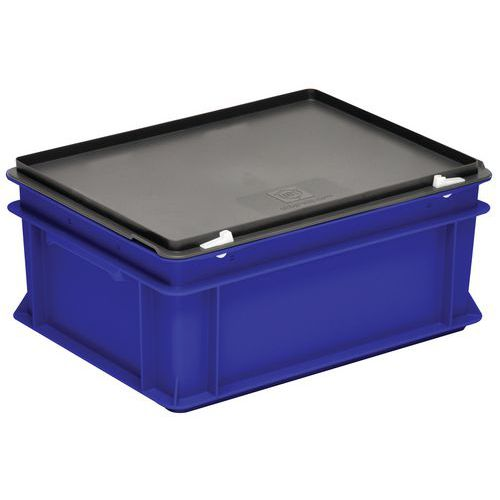 Behälter mit Deckel RAKO blau- 300x200mm- 5 bis 60L