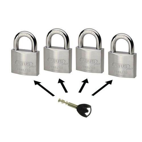 Vorhangschloss Abus Plus Serie 88 - gleichschließend - 2 Schlüssel