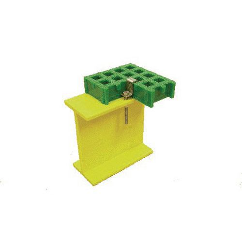 Befestigungsklammer für Bodengitter Sécuriline®