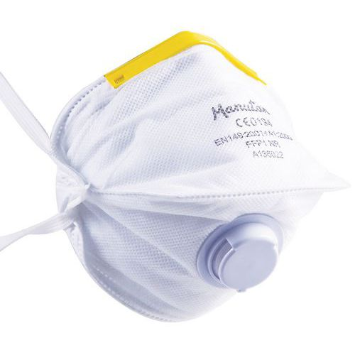 Faltbare Halbmaske für den einmaligen Gebrauch FFP1- Manutan