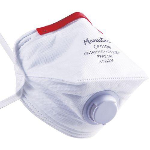Faltbare Halbmaske für den einmaligen Gebrauch FFP3- Manutan