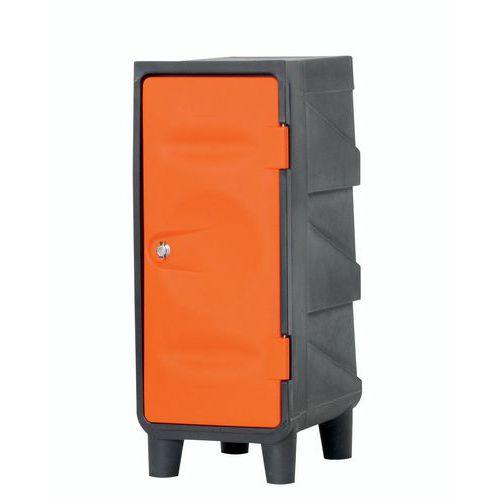 Garderobenschrankaufsatz aus Kunststoff- auf Füßen- EMP