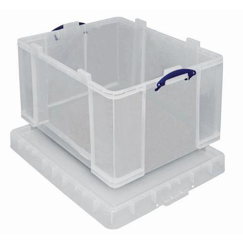 Aufbewahrungsbehälter - Länge 810 mm - Transparentes Modell