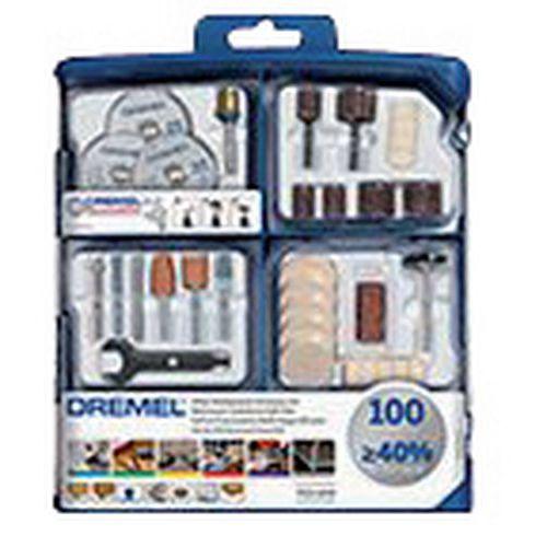 Vielseitig einsetzbarer Zubehörsatz für Dremel - 100 Teile