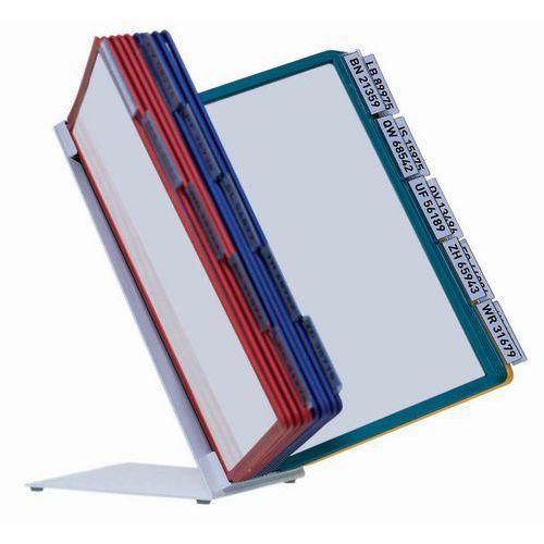 Schreibtischhalterung Vario- 20 verschiedenfarbige Sichttafeln A4