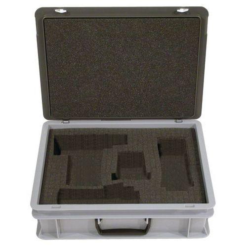 Behälterkoffer Rako mit Deckel - mit Formschaum - Länge 300 mm
