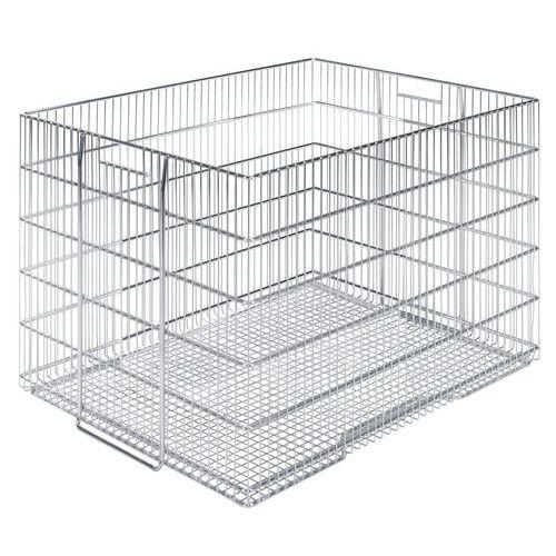 Gitterbox zum Stapeln aus Stahldraht - Länge 800 mm
