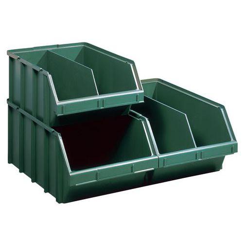 Große Stapelsichtbox, zusammensetzbar - Länge 570 mm - 60 l