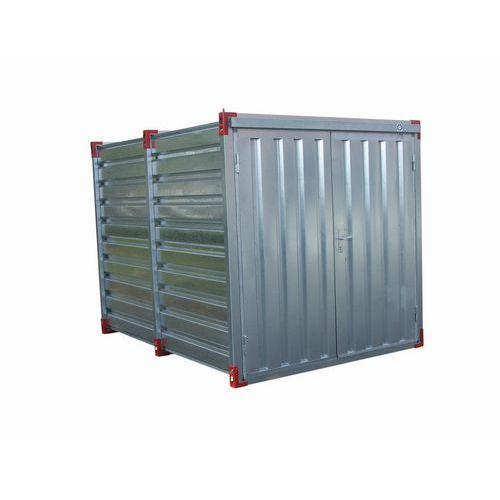 Container - Fassungsvermögen 275 L - Öffnung auf der Schmalseite