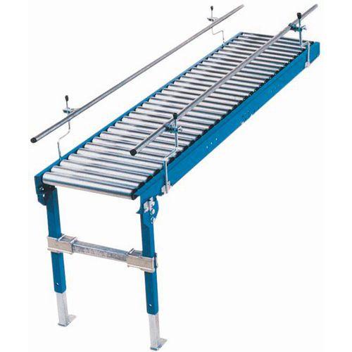 Schwerkraftförderer - Mit Stahlrollen Ø 60 mm Länge 700 mm