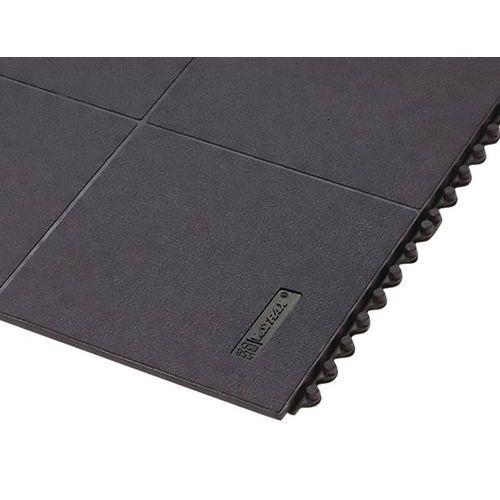 Anti-Ermüdungsmatte in modularem Stecksystem mit ergonomischen Noppen ESD, Stärke 19mm