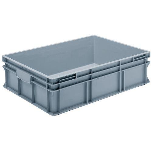 Stapelbarer Euronorm-Behälter grau RAKO- 90 bis 175L