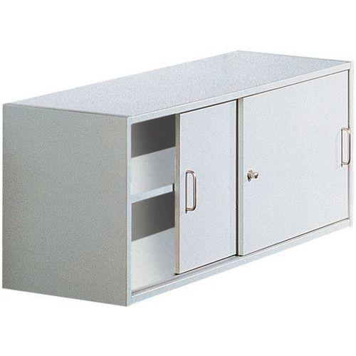 Container mit Schiebetüren für Regal Combi-Theek