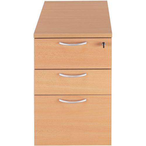 Feststehender Schubladencontainer - Buche - Manutan