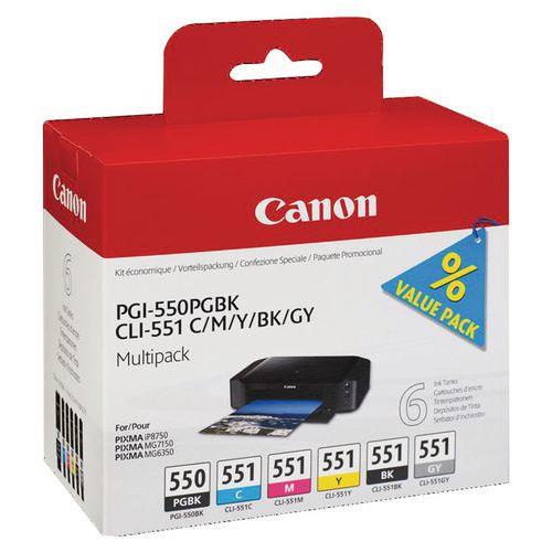 Druckerkartusche- PGI-550/CLI-551- Canon