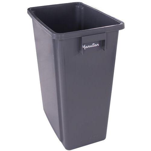 Manutan Abfallbehälter für Mülltrennung - 60 L und 80 L - Manutan