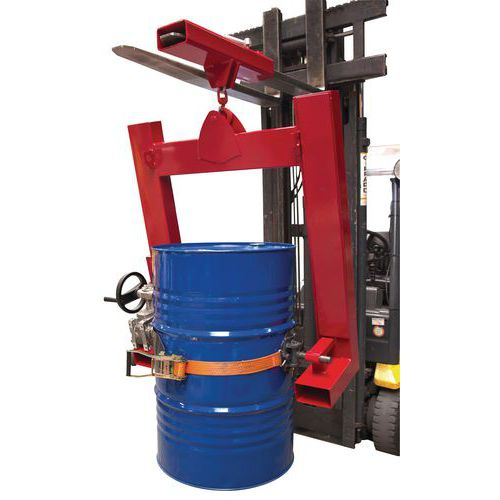 Kipper für Metallfässer - Tragkraft 400kg