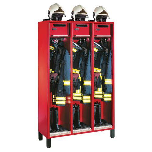 Feuerwehrspind S3000 Evolo - 1 bis 3 Säulen, Breite 400mm - auf Füßen