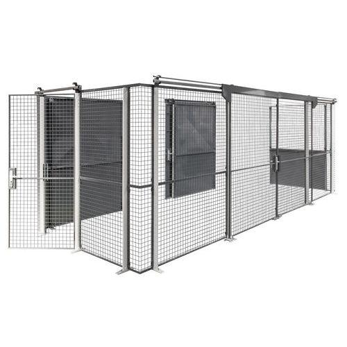 Schutz für Lagerbereich- Gittertür