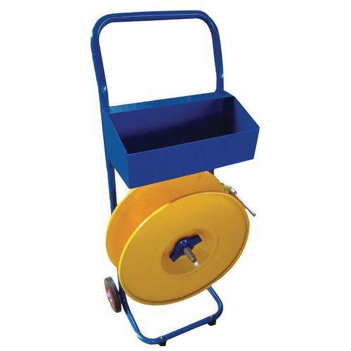 Mobiler Abroller- Polypropylenband