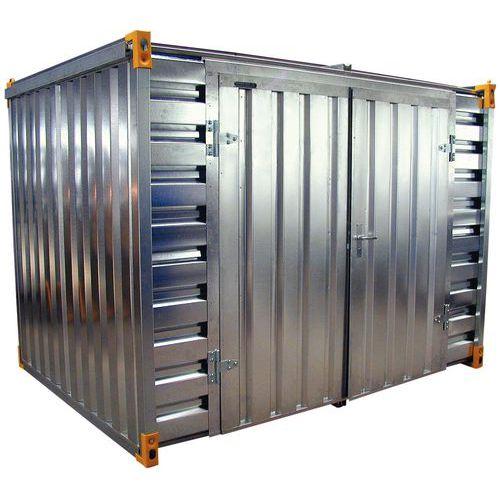 Container - Fassungsvermögen 1520 L - Öffnung auf der Breitseite