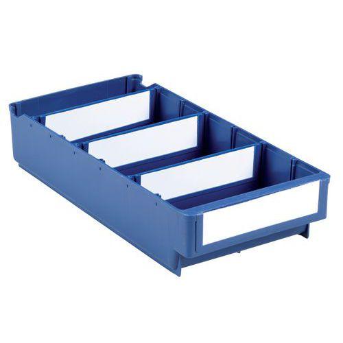 Unterteilbarer Lagerkasten - Serie B - Länge 300 bis 500 mm