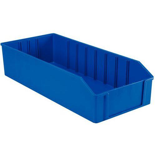 Polystyrolbox mit Schubfach - Länge 295 bis 500 mm