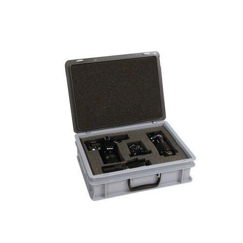 Set mit vorgeschnittenem Schaumstoff für Koffer