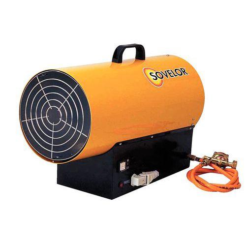 Ventilatorofen - Mit Propangas- Tragbar - Modell mit automatischer Zündung
