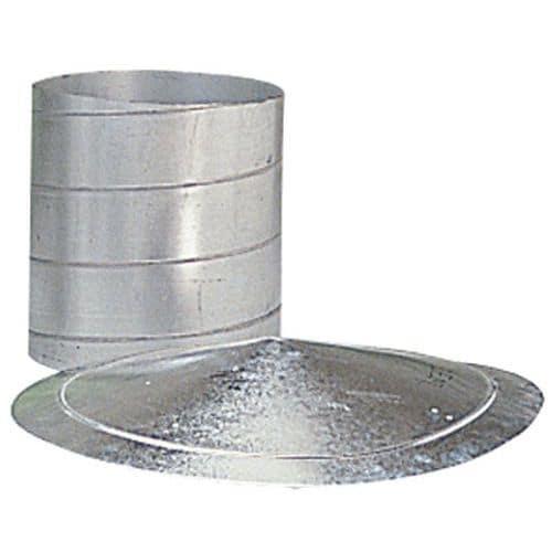 Halterung Klemmring für Lüftungsrohrleitungen – Ø 80 bis 125mm
