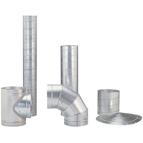 Rohr für starre Entlüftungsschläuche - Ø 160 bis 315 mm