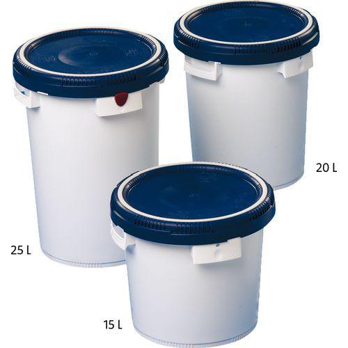 Einbruchsicherer, wasserdichter Behälter Click Pack - 20 und 25l