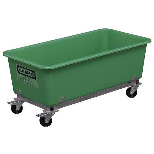 Box auf Rädern mit Klicksystem - 100 und 200 L